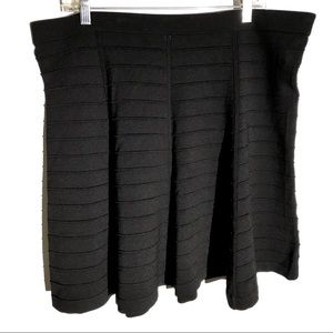 HOST PICK🥳 NWT Wendy Williams Ribbed Black Skirt